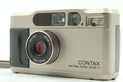 $ CDN1191.19 • Buy 【Exc+++++ W/ Strap】 Contax T2 35mm Point & Shoot Film Camera Compact From JAPAN