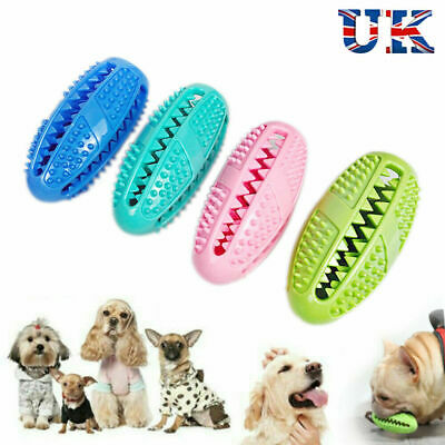 £5.99 • Buy Dog Toothbrush Chew Toy Pet Treat Food Dispenser Dental Care Teeth Cleaning Toys