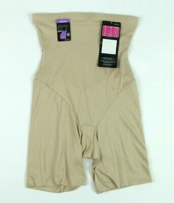 $15.96 • Buy Women's Maidenform High-Waisted Shaper Shorts Beige Size Small