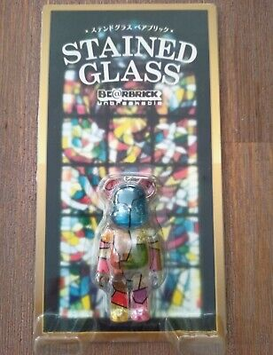 $36.75 • Buy Bearbrick 100% Limited Edition Stained Glass Bear. New In Packet.