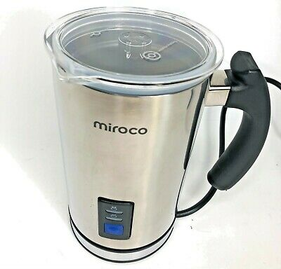 $15.90 • Buy Miroco Milk Frother, Electric Milk Steamer Stainless Steel, Automatic Hot