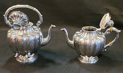 $3210 • Buy Sterling Silver Vintage Maciel Hand Crafted Solid Mexican Tea & Coffee 3 Pc Set