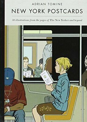 £10.21 • Buy New York Postcards: 30 Illustrations From The Pages Of By Adrian Tomine New Book