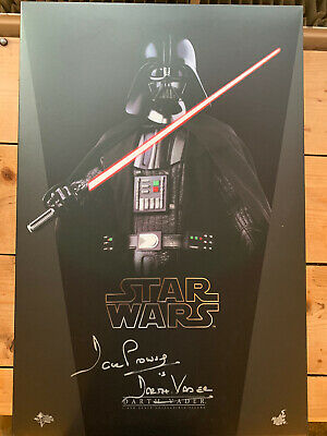 $ CDN985 • Buy MMS 279 Hot Toys Star Wars Darth Vader 1/6 Scale Figure-Signed By Dave Prowse-UK