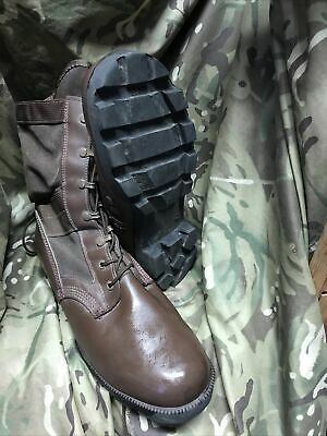 $69.42 • Buy Genuine British Military Issue Brown Jungle Boots! Wellco WP!worn Once!Size 10 L