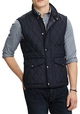 $139.95 • Buy Polo Ralph Lauren Iconic Quilted Vest Black Men's Size Large L New NWT ⭐️