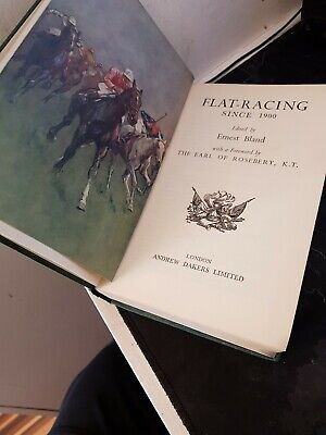 £15 • Buy 1950s Flat Racing Book,  Ernest Bland, London See Photos