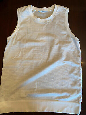$ CDN37.99 • Buy Lululemon Swiftly Breeze Tank Size 10 Relaxed Fit Antibacterial White Org58$
