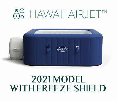 £649 • Buy Lay Z Spa Hawaii Airjet 6 Person Hot Tub Jacuzzi - New 2021 Model - Fast Ship