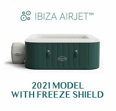 £639 • Buy Lay Z Spa Ibiza Airjet 6 Person Hot Tub Jacuzzi - New 2021 Model - FAST DELIVERY