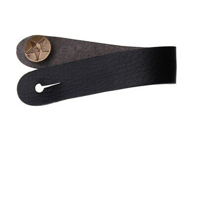 $ CDN7.29 • Buy New Genuine Leather Guitar Strap Button For Acoustic/Folk/Classic Guitar Black*1