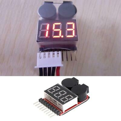 £2.57 • Buy 1-8S Lipo/Li-ion/Fe RC Boat Battery 2 In 1 Tester LED Low Voltage Buzzer Alarm