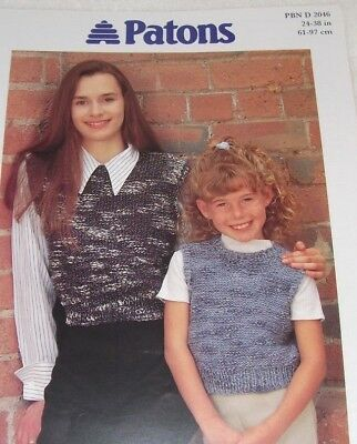 £1.75 • Buy Ladies & Girl's Cropped Top ~ 24 -38  ~ Chunky Knitting Pattern ~ Easy Design