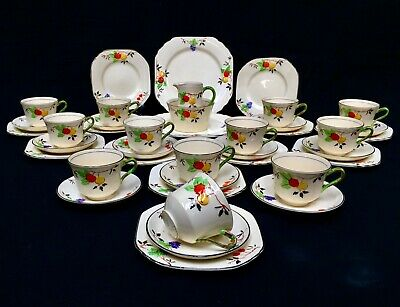 £119 • Buy Antique Thomas Forester & Sons Phoenix Ware Tea Set For 12 People