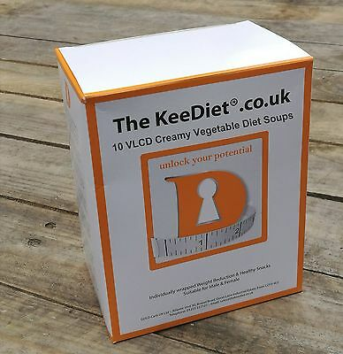 £15 • Buy Meal Replacement VLCD Diet Weight Loss 10 X KeeDiet® Creamy Vegetable Diet Soup