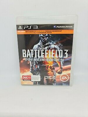 £4.26 • Buy BATTLEFIELD 3 PREMIUM EDITION Playstation 3 Complete VGC Free Tracked Shipping