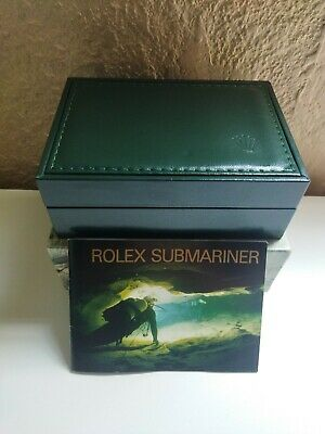 $ CDN314.71 • Buy 1990's VINTAGE ROLEX SUBMARINER 16610 MEN'S WATCH BOX WITH OUTER BOX AND BOOKLET