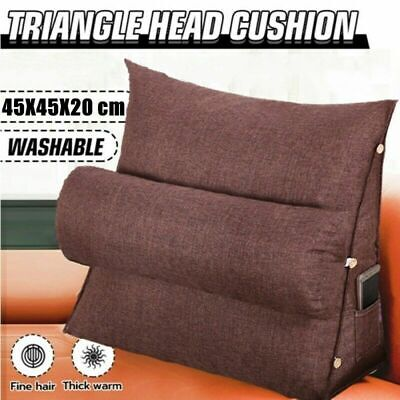 AU20.99 • Buy Adjustable Back Sofa Bed Wedge Cushion Pillow Office Chair Rest Neck Support