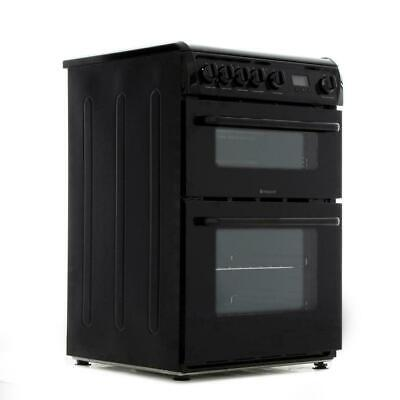 £339.99 • Buy BRAND NEW Hotpoint HAG60K 60cm Gas Cooker, Gas Double Ovens, Gas Grill & Gas Hob
