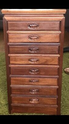 £350 • Buy Mahogany Small Chest Of Drawers Collectors Specimen