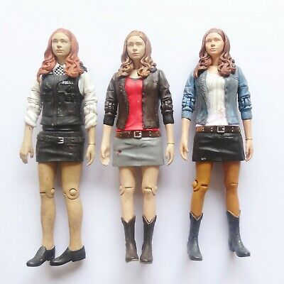 £24.05 • Buy LOT OF 3 Doctor Dr Who  AMY POND Police Action Figure Old 5.5