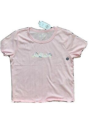 AU19.01 • Buy New Hollister Size M Girls Baby Tee Light Pink