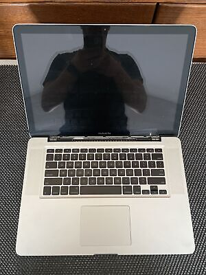 """$60.05 • Buy 2008 Apple MacBook Pro 15"""" A1286 AS IS For Parts Or Repair #08"""