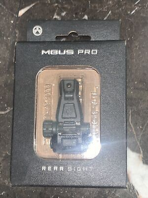 $85 • Buy BRAND NEW Magpul MBUS PRO Steel Backup Sights Rear Sight MAG276 Made In US NEW