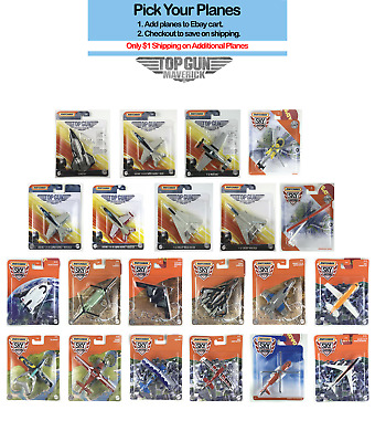 £5.81 • Buy MATCHBOX 2021 Top Gun Maverick Planes And Skybusters Helicopters Planes U Pick