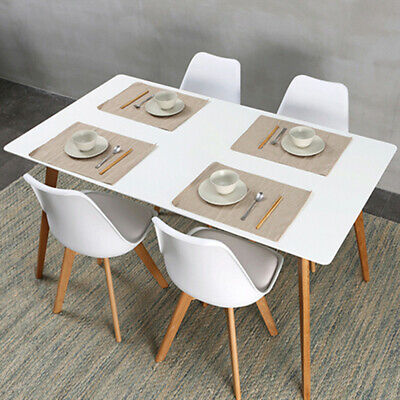 £170.80 • Buy 5 Piece Modern Dining Table Set And 4 Retro Chairs Dinning Kitchen Living Room