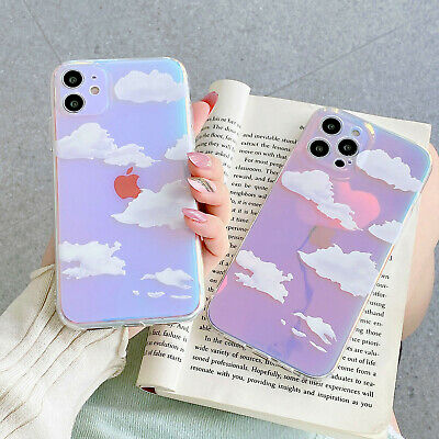AU9.40 • Buy For IPhone 11 12Pro Max XR XS Max 8 Plus Cute Cloud Back Shockproof Phone Case