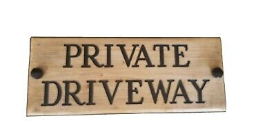 £9.95 • Buy  Private Driveway Sign