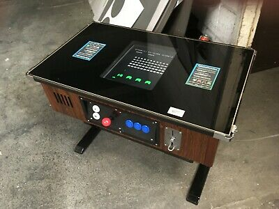 £1395 • Buy 80's Coin Operated Table Top Video Games Machine Space Invaders Etc Fully Refurb