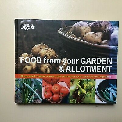 £10 • Buy Readers Digest Gardening Books Garden And Allotment Food Book In Detail