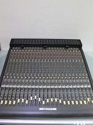 £385.35 • Buy Mackie 24 Channel 8 Bus Expansion Console Mischpult (H445-6176-3-B1)