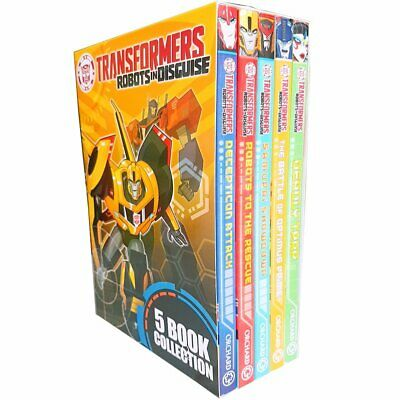 £13.70 • Buy Transformers Robots In Disguise Collection 5 Books Box Set