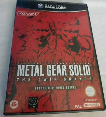 £79.99 • Buy Metal Gear Solid: The Twin Snakes - GameCube - PAL