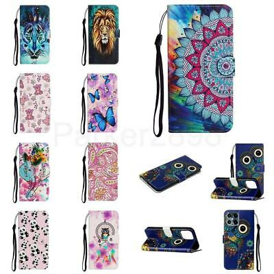 £5.93 • Buy Phone Case Cover For 12 11 Pro XR XS Max 8 7 Mini Plus Embossed Pattern Wallet