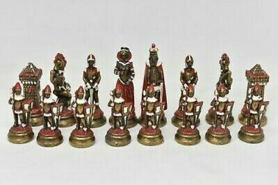 £49.99 • Buy Italfama Mary Queen Of Scots Hand Painted Chess Set Complete 32 Piece No Board