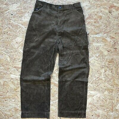 £25 • Buy Brown W33 L32 Dickies Relaxed Carpenter Cord Corduroy Trousers Skate Workwear
