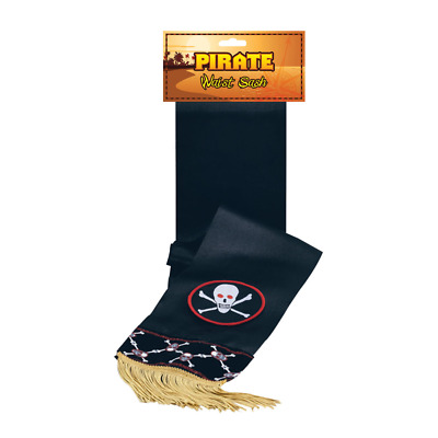£5.99 • Buy Pirate Captain Hook Pugwosh Pantomime Fancy Dress Sash Book Day Accessory