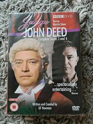 £6 • Buy Judge John Deed: Series 3 And 4 DVD (2008) Cert 12 5 Discs. Brand New And SEALED