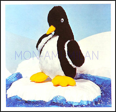 £3.50 • Buy Penguin Sewing Pattern Photocopy To Make A Cute Cuddly Soft Toy Animal 10  Tall