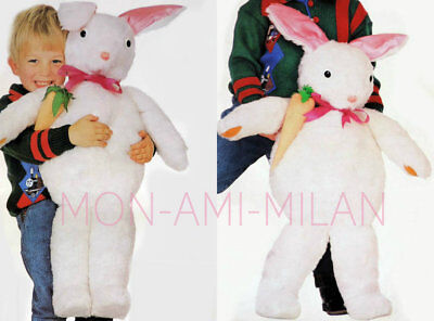 £3.50 • Buy Bunny Sewing Pattern Photocopy To Make A Large Rabbit Soft Toy Fur Animal 36