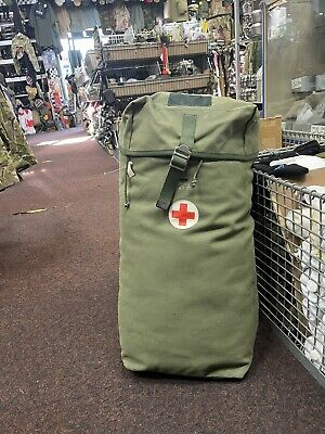 £15 • Buy Genuine Swedish Army First Aid Rucksack!! All Grade 1!! Approx 25litre