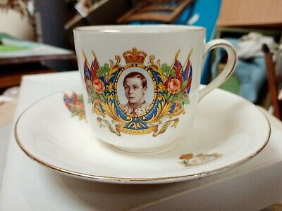 £7 • Buy Edward VIII 8th Coronation Cup And Saucer. Vintage Collectable. 12th May 1937