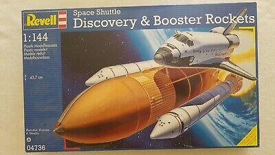 £24 • Buy Revell Space Shuttle Discovery & Booster Rockets 1/144 Pre-owned Still Sealed.