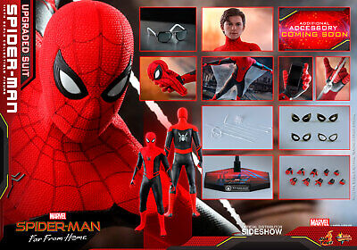 $ CDN314.70 • Buy Hot Toys MMS 542 Spider-Man Far From Home Upgrade 1/6 Scale USA Seller In Hand