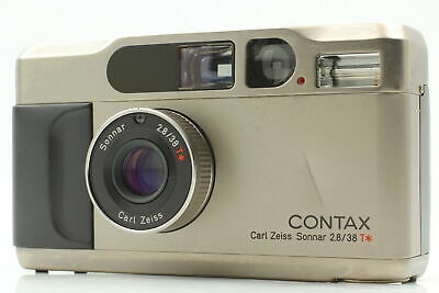 $ CDN1107.54 • Buy [Exc+5] Contax T2 Titan Silver Point & Shoot Film Camera From JAPAN