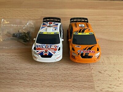 £15.99 • Buy Micro Scalextric FORD FOCUS Cars X 2 Vgc Fully Working 1:64 Scale FREEPOST